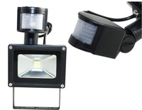 Wholesale- New type PIR 10w 20w 30w 50w 100W LED Flood light IP65 led outdoor lamp led projector led garden square light 85-265v