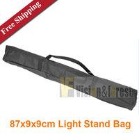 Light Stand Portable Bag 87x9x9cm Tripod Carrying Bag Tripod Case Studio Stands Folding Tripod Bag Free shipping