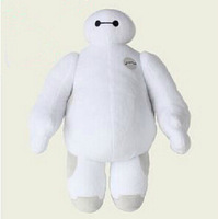 Hot Sale Christmas High Quality 30cm Big Hero 6 Baymax Stuffed Plush Robot Doll Large Ultra Soft Baby Classic Toys Free Shipping