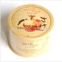 hot sale SKINFOOD [Skin Food] Peach Sake Silky Finish Powder 15g brighten concealer whitening powder free shipping