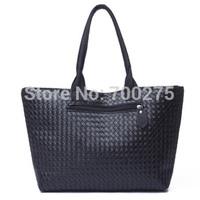 Hot Sale!! Women Pu Leather Handbag,Tote Shoulder Bags Large Capacity Pu Weave Bags Fashion Design Free Shipping Wholesale