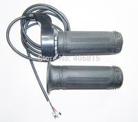 Free Shipping 7/8'' High quality 24V/36V/48V/60V/72V E-bike Twist Throttle Speed Handle Bar E-Scooter throttle grip