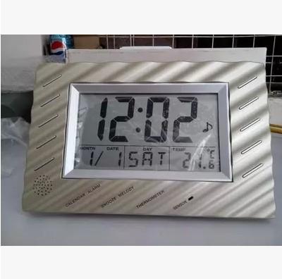 xports of electronic clock English version of multi-function display table clock wall clock(China (Mainland))