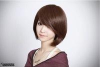 Free shipping Wig short hair wig repair face fashion short hair wig pear head bobo