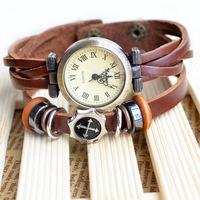 2014new design male/female unsex wrist watch,top fahison Cross style jesus print antique watch
