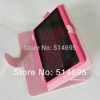 "Colorful Rotary Magic PU Case+Stylus For 7"" Prestigio MultiPad PMP5870C PMP3670B Tablet Free Shipping"