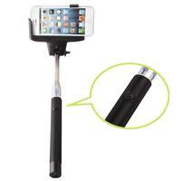 New Fashion Handheld Bluetooth Selfie Stick Monopod Extendable For iPhone Samsung HTC Black