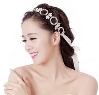 Rhinestone Wedding Bridal Headband Hairband Crystal Hair Band Head Chain Jewelry Hair Accessories 2014 WIGO0368