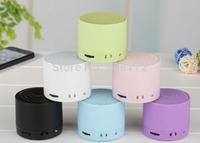 Magic S10 Wireless Bluetooth plastic speaker Mini TF/SD Card With MIC handsfree plastic Music Speaker DHL  ZKT