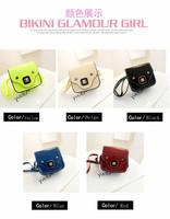 2014 new fashion mini pig`s nose design bag;shoulder bag ;women message bag