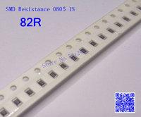 SMD Resistance 0805 82R 82 ohm 1% 1/8W Chip Resistors 500PCS/LOT