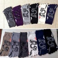 5PC New Autumn Winter  Men Cotton Toe Socks Five Fingers Cotton Business Men Sock YK0023/Z