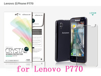 NILLKIN screen protector Lot! Matte OR Super clear HD anti-fingerprint protective film for LENOVO P770 +retailed package