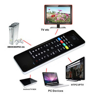 Russian Rii i13 RT-MWK13 2.4Ghz Fly Air Mouse Intelligent Wireless Keyboard Combos Remote Controller FOR Android TV mini PC