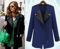 Plus size women winter coat clothing outerwear autumn fashion medium-long Large women coat trench outerwear