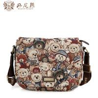 Danny BEAR women's cross-body handbag small bag saddle bag women's messenger bag for db 7703