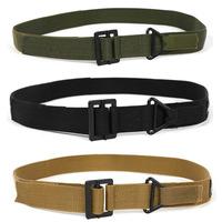 women/men belts Field tactics canvas waist thickened bandwidth wild tide outdoor rescue rappelling belt