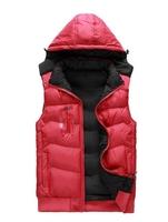 1Hot! MSALE-2014 Men's autumn and winter cold and warm down cotton Waistcoat Both sides wear cotton vest  women vest Men Coat 91