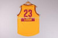 Free Shipping,2014 - 2015 Christmas Edition basketball jersey #23 LeBron James Christmas basketball jersey