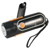 Mini LED Manual Electricity  Generation  flashlight radios Torch  XLN - 704 Free shipping