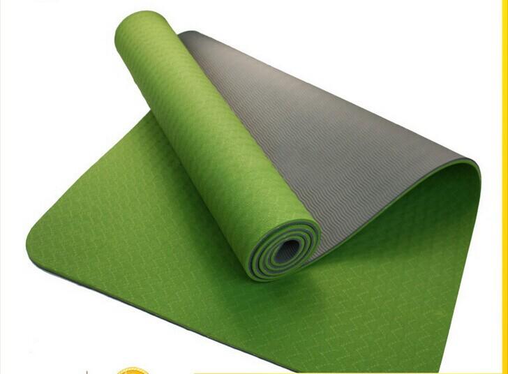 Коврик для йоги Hyt TPE 6 sd6mm коврик для йоги 173х61х0 7 см серый hkem1205 07 grey