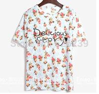 2014 Hot sell Casual T-shirt Short sleeve Free shiping