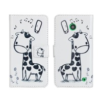 New Fashion Flower Animal Wallet Leather Case For Nokia Lumia 630 635 Phone Cases With Stand Cell Phones Cover