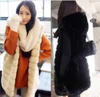 A new fur coat and long sections of imitation fur coat fur Momo Ma Jianv