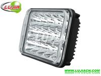 "6.6"" inch 45W led Work Light Square Offroad LED work light IP6712v 24v 6000K Pmma Lens for trcuk fog lamp SUV 4WD ATV"