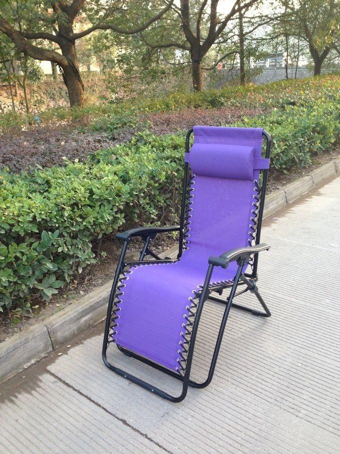 Venda quente interior e exterior Furnitue ameixa Loire Zero cadeira gravidade reclinar espreguiçadeira cadeira Folding Chair Metal(China (Mainland))
