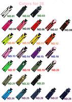 Multicolor High quality Clip on Adjustable Braces Candy Suspender Unisex Pants Y-back elastic Suspender Braces 2.5*80cm 100PCS