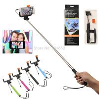 100pcs/lot Extendable Handheld Selfie Stick Monopod Camera Tripod for iPhone Mobile Phone Tripe Monope Selfi for Samsung CL-90