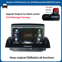 FACTORY direct sale 7 inch Touch screen Win ce 6.0 Car DVD GPS for VW Touareg