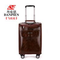 Danpin Pu business travel box 20 inch 24 inch suitcase pull rod box universal wheel landing chassis men and women -2072