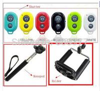 Extendable Handheld Self-Timer selfprotrait Monopod selfie stick Photograph Bluetooth Shutter Camera Remote Control cameraHolder