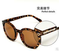 2014 new Vintage retro sunglasses women brand designer.Round frame sun glasses arrow in the leg oculos de sol GL-5214