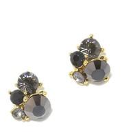 30pcs glitter black rhinestones for nails art decoration manicure nail charms MNS758