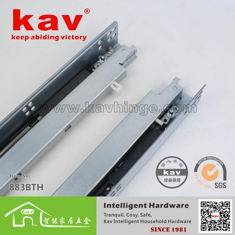"""30cm( 12"""") extensão total 3- dobrar corrediça da gaveta(China (Mainland))"""