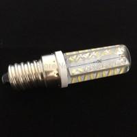 DHL FREE NEWEST LED Crystal lamps E14 7W 3014 SMD 72LED Dimmable Corn Bulb 220V Spot light Silicone  Droplight 100Pcs
