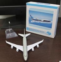 Qatar Airways  Boeing B747 Air alloy aircraft Children's Gifts Airplane metal Model free shipping