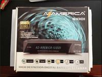 Free Shipping Azamerica S1001 hd Twin Tuner az amercia s1001 Smart Card Reader&lan&USB PVR AzAmerica S1005 HD IN STOCK