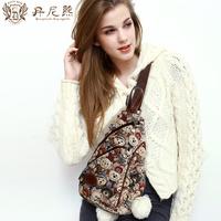 Danny BEAR fairy bear fashion messenger bag casual fashion women's chest pack for db 7707