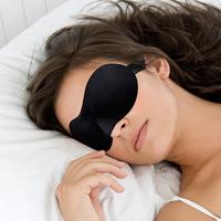 Free Shipping! Seamless stereoscopic Travel Rest 3D Sponge Eye MASK Sleeping Eye Mask Cover health care shield the light