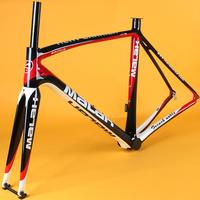Carbon fiber frame+fork  bicycle frame ultra-light carbon fiber road bike fiber frame