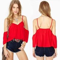 Women Tops Clothing Blouses Blusas Femininas Solid Color Roupas Camisas Casual Shirt Female Women Fashion Blouse Shirt Chiffon