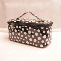 Patent leather cosmetic bag box 2014 storage box storage bag small change women's day clutch KX097