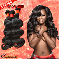 Unprocessed Malaysian Virgin Hair Body Wave Grade 6A Human Hair Weave Weft Extension Malaysian Body Wave Bundles Free Shipping