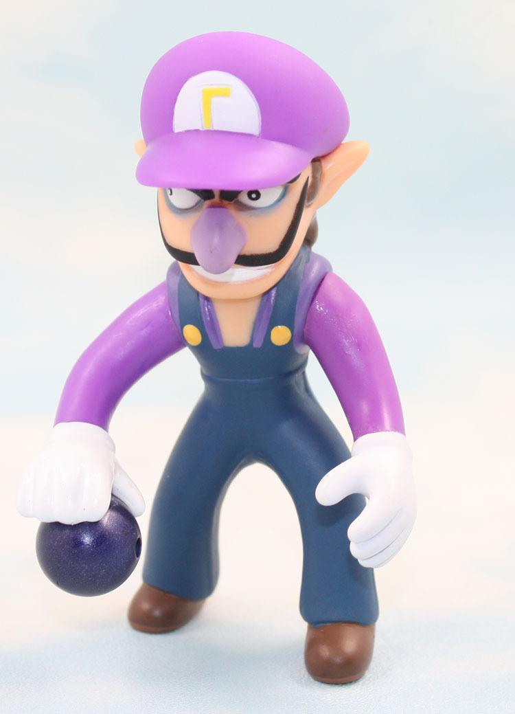 1Set Super Mario 10PCS 10cm/4inch new PVC Cute Super Mario Brother Waluigi Figure Toy DOLLS high quality(China (Mainland))