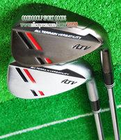 New Golf Clubs ATV black Golf Wedges 52.54 56 58.60 loft 1pcs/lot steel Golf shaft Club set Free Shipping