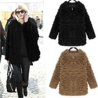 2014 winter fur thread woven circle lamb fur coat fur coat in imitation of self-cultivation